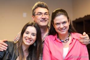 Bia, José Carlos e Maria de Fátima